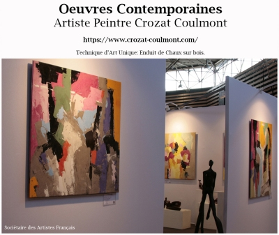 Artiste Peintre- Art Abstrait Contemporain