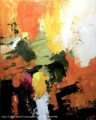 Abstraction- Crozat Coulmont Art