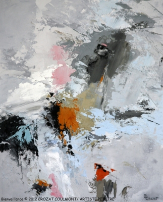Art Abstrait Contemporain- Peintre Français