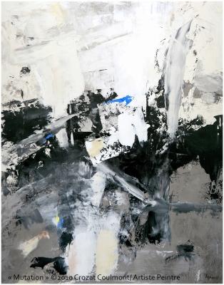 Artistes Français- Abstrait Contemporain (Enduit de chaux/ bois)