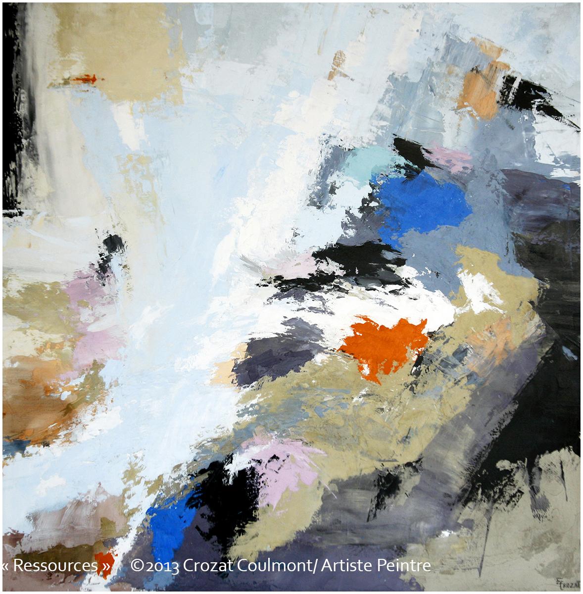 galerie art abstrait peinture