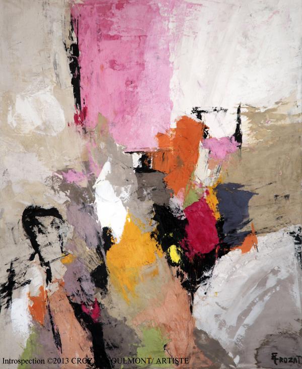 Crozat coulmont artiste peintre de l abstraction expose for Artiste art abstrait