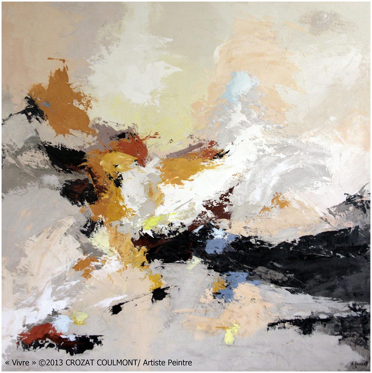 femme peintre   l u2019artiste peintre d u2019art abstrait crozat