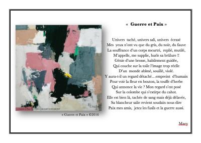 Abstraction Art- Peinture d'Art Abstrait- Artiste peintre- Crozat Coulmont- peinture abstraite