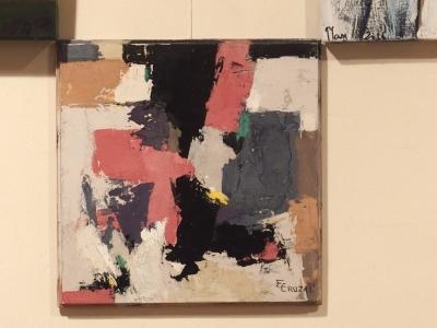 Oeuvre unique, peinture d'art abstrait