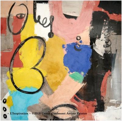 Peinture Contemporaine, Couleurs et Matières d'Art.