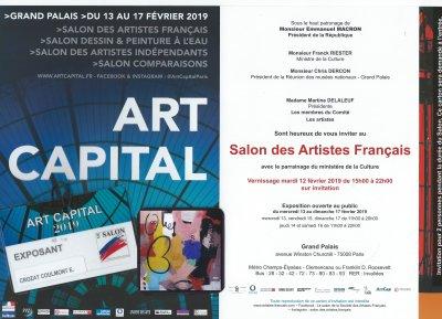 Artistes Français- Le Peintre Crozat Coulmont